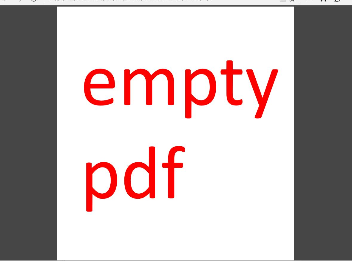 empty pdf using conntected databands stimulsoft forum