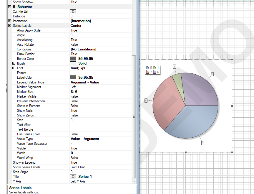 Pie Chart Doesnt Display List Of Arguments Stimulsoft Forum
